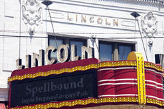 Lions Lincoln Theatre Stock Photo