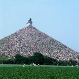 Lions Mound memorial - scanned image Royalty Free Stock Photo