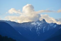 The Lions Mountain Peaks Stock Images
