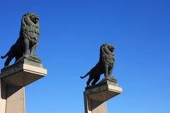 Lions Sculpture Stock Image
