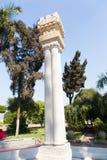 Lions Sculptures in the garden - Africa. Sculptures in the garden - Egypt - Africa royalty free stock images