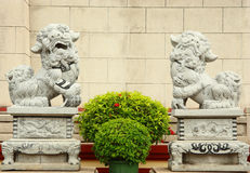 Lions statue Stock Photography