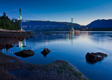 Lionsgate Bridge Royalty Free Stock Photo