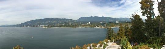 Lionsgate Bridge, British Columbia Stock Image