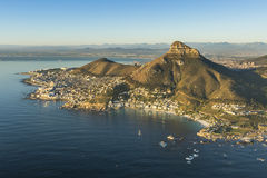 Lionshead Capetown South Africa. A view of Lionshead in Capetown South Africa Stock Images