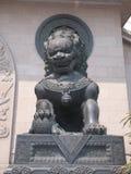 lionskulptur Royaltyfria Foton