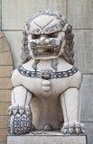 lionstatyer Arkivbilder