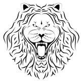 Liontatuering Arkivbilder
