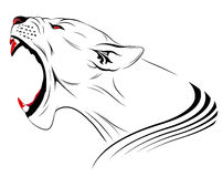 lionvektor Royaltyfri Bild