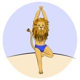 Lionyog Image libre de droits