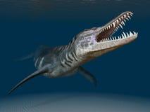 Liopleurodon stock abbildung
