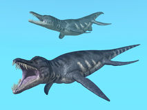 Liopleurodon Stock Photo