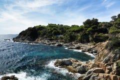 LIoret de 3月,西班牙海岸  免版税库存图片