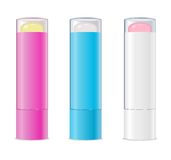 Lip balms. Vector Royalty Free Stock Photos