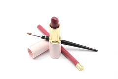 Lip Beauty Essentials Royalty Free Stock Photography