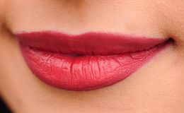 Lip, Chin, Lipstick, Close Up Stock Photography
