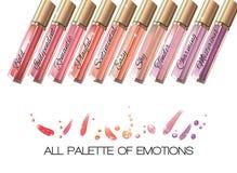 Lip gloss  banner Stock Photos