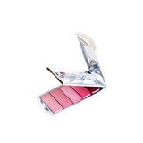Lip gloss palette Royalty Free Stock Photography