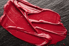 Lip gloss, texture Stock Photos
