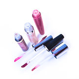 Lip glosses Stock Images