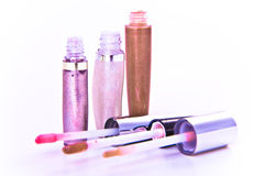 Lip Glosses Royalty Free Stock Photography