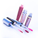 Lip glosses Royalty Free Stock Images