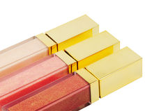 Lip glosses Stock Photo