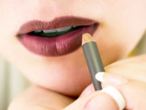 Lip liner Stock Photo