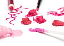 Lip makeup Royalty Free Stock Photo