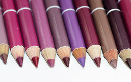 Lip pencils Royalty Free Stock Images