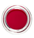 Lip red ruby gloss Royalty Free Stock Photos