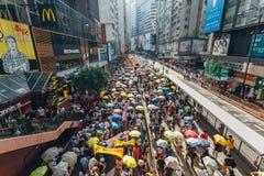 1 Lipa protest w Hong Kong Fotografia Stock