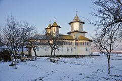 Lipanesti saint nicholas monastery Royalty Free Stock Photo