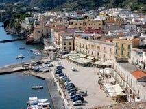 Lipari, Aeolian Island , View marina  Corta, Italy Stock Photography
