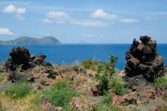 Lipari,Aeolian Islands,Italy Stock Image