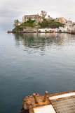 Lipari-Hafen, Italien lizenzfreie stockbilder