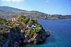 Lipari Insel, Sizilien lizenzfreies stockbild