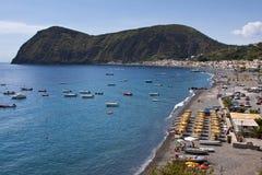 Lipari Island. View on the island of Lipari, in Sicily, Italy Royalty Free Stock Photography