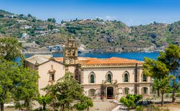 Lipari island Royalty Free Stock Photos