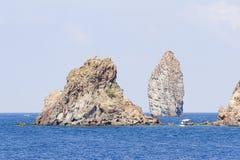Lipari island, Italy Royalty Free Stock Image