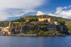 Lipari Island royalty free stock photos