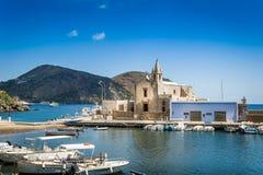 Lipari island marina Stock Images