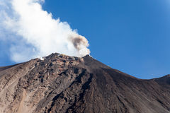 Lipari Islands. An image of the active volcano islands at Lipari Italy Royalty Free Stock Photography