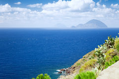 Lipari Islands Royalty Free Stock Photos
