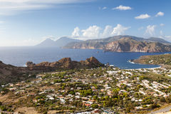 Lipari Islands Stock Image