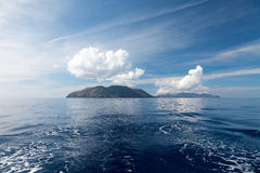 Lipari Islands Stock Images
