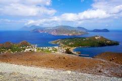 Lipari islands royalty free stock image