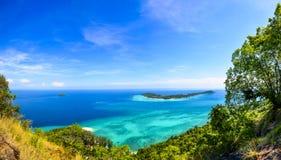 Lipe海岛安达曼海泰国 免版税库存照片