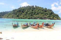 Lipe bonito Tailândia do @koh da praia Foto de Stock