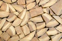 A lipe of cut stump log texture Stock Images